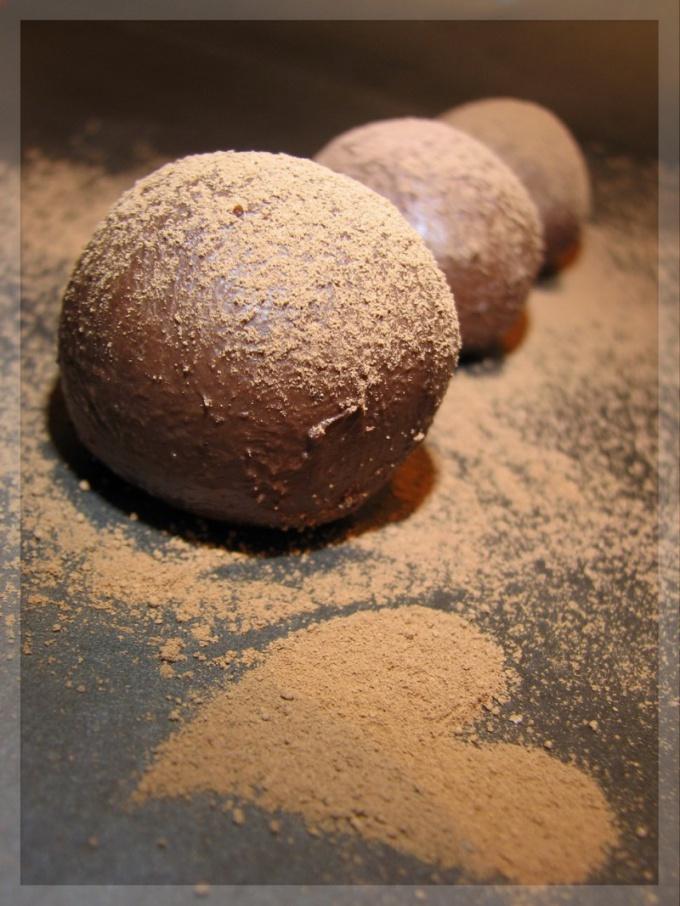 Как приготовить конфеты трюфеля