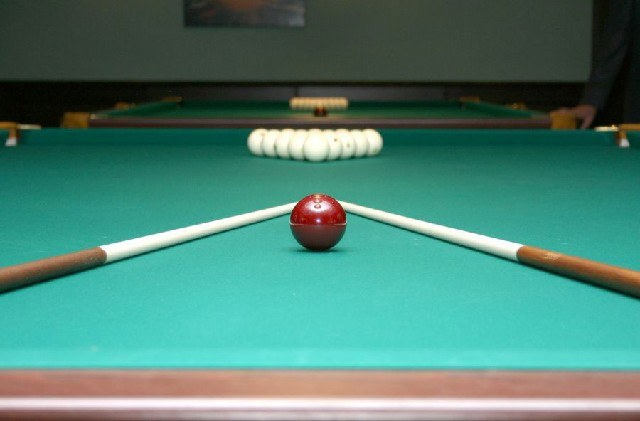 How to drape the cloth on a pool table