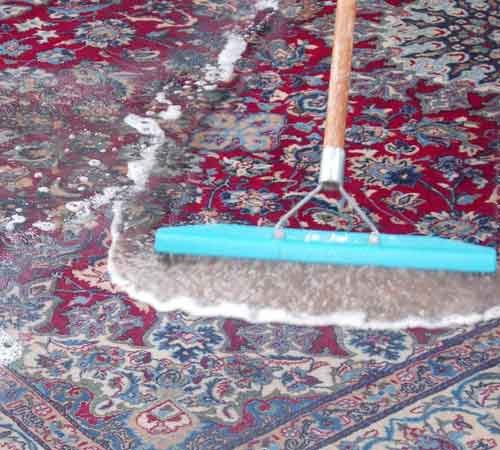 How to clean clay in the carpet