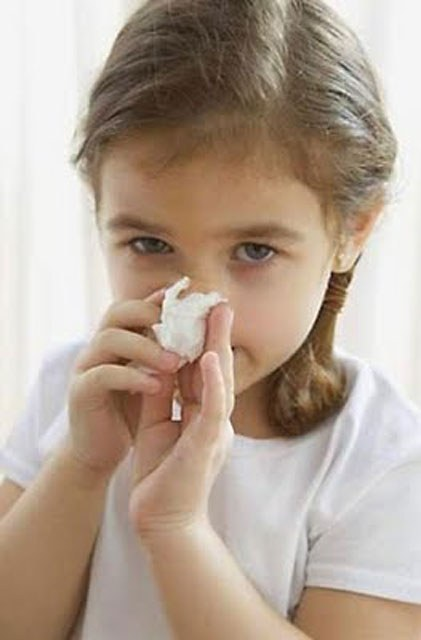 What to do when the child has a stuffy nose