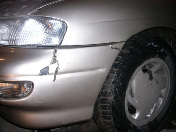 Как отремонтировать бампер авто