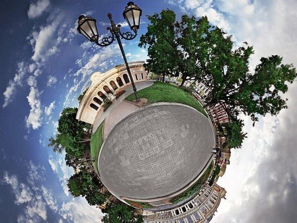 Как снимать сферические панорамы