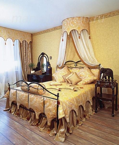 Как повесить балдахин над кроватью