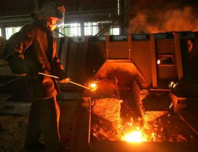 How to melt iron