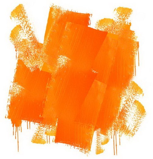 Как получить оранжевую краску