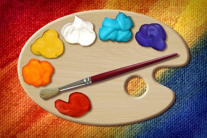 Как выбрать цвет кисти