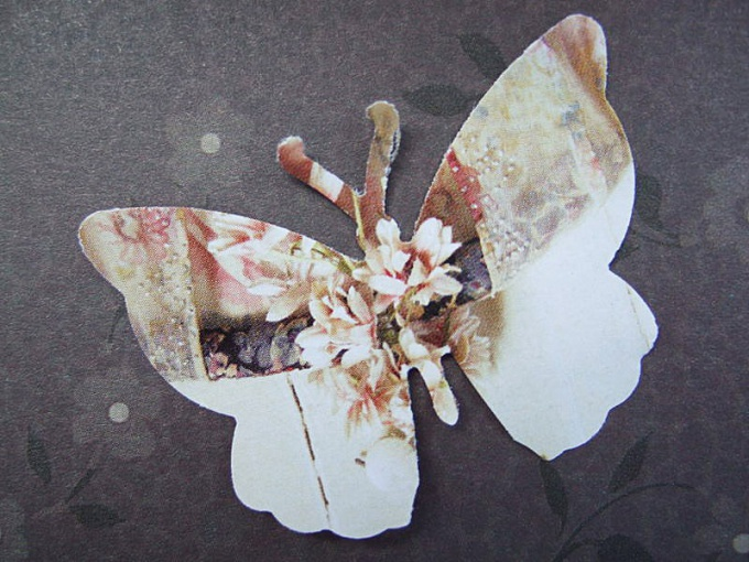 How to cut a butterfly out of paper