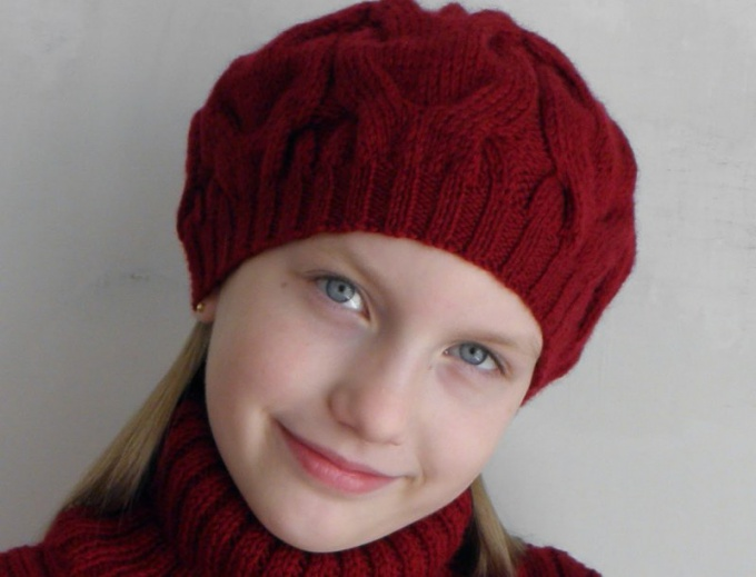 How to knit baby beret knitting