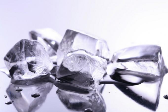 Как сделать формочки изо льда