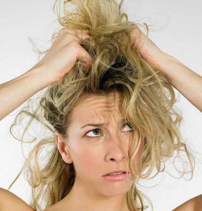 Как обеспечить уход за сухими волосами