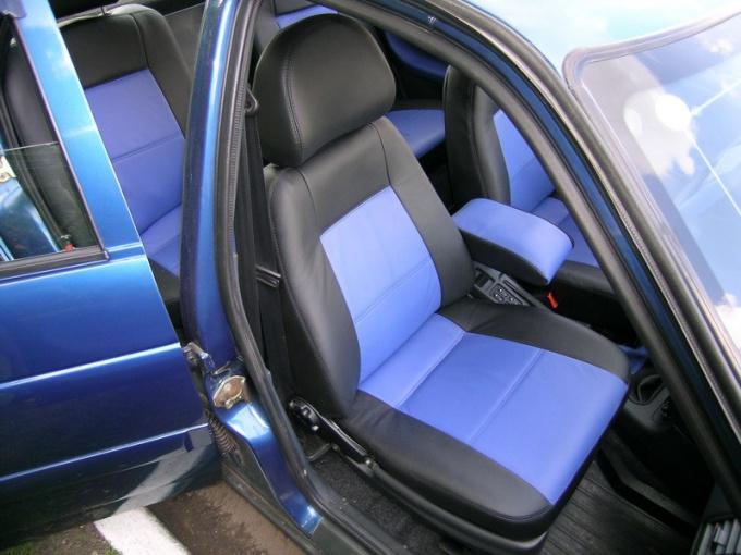 Как перетянуть сидения автомобиля своими руками