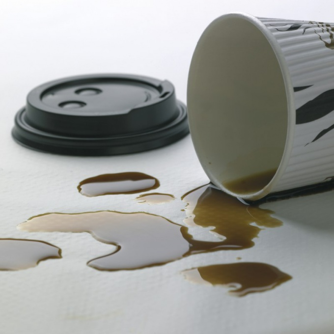 How to remove a stain from coffee