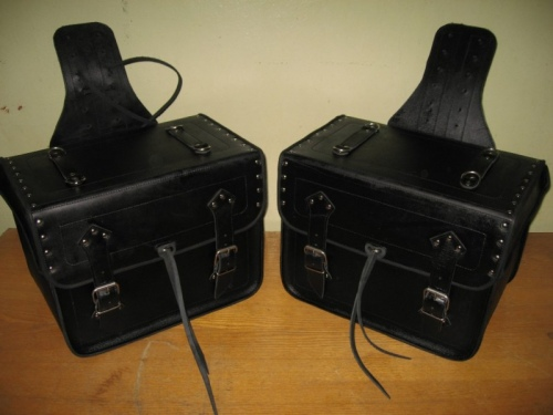 Homemade saddlebags