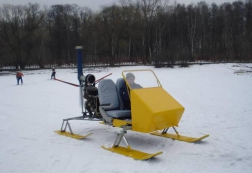 Снегоход-аэросани