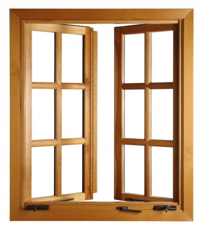 How to make wooden window frames