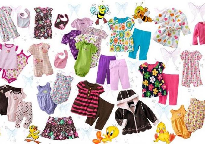 Как определиться с размером одежды ребенка