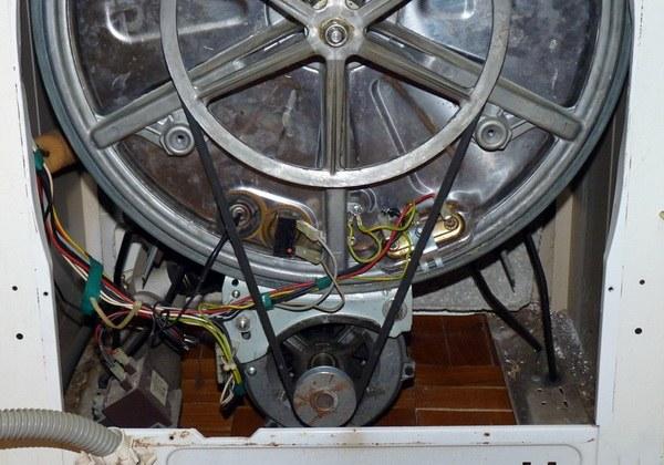 Как снять шкив стиральной машины