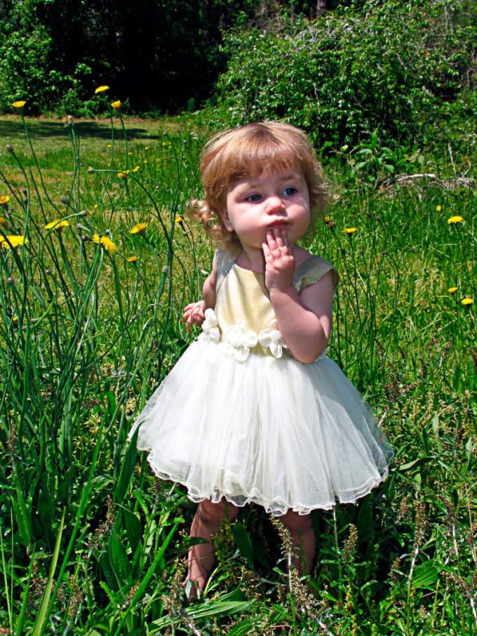 Как сшить летнее платье для девчонки