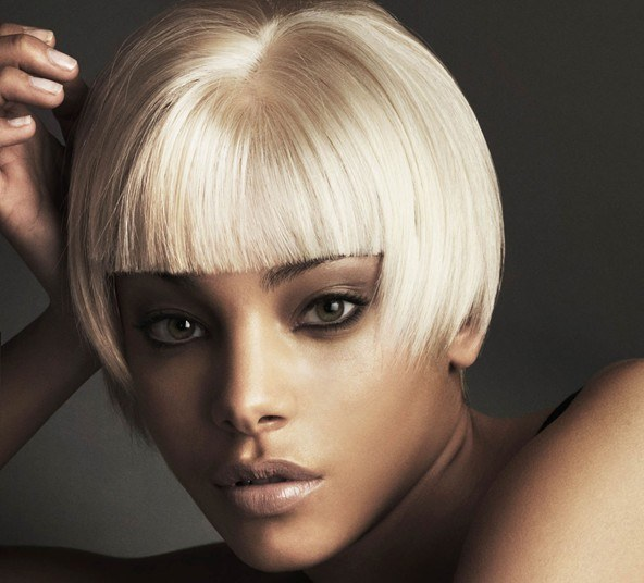 How to paint over bleached hair
