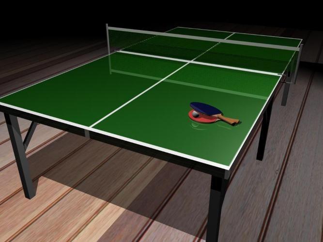 Как сделать теннисный стол