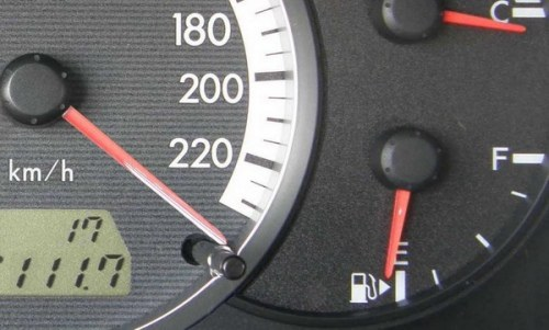How to set the rate of fuel consumption