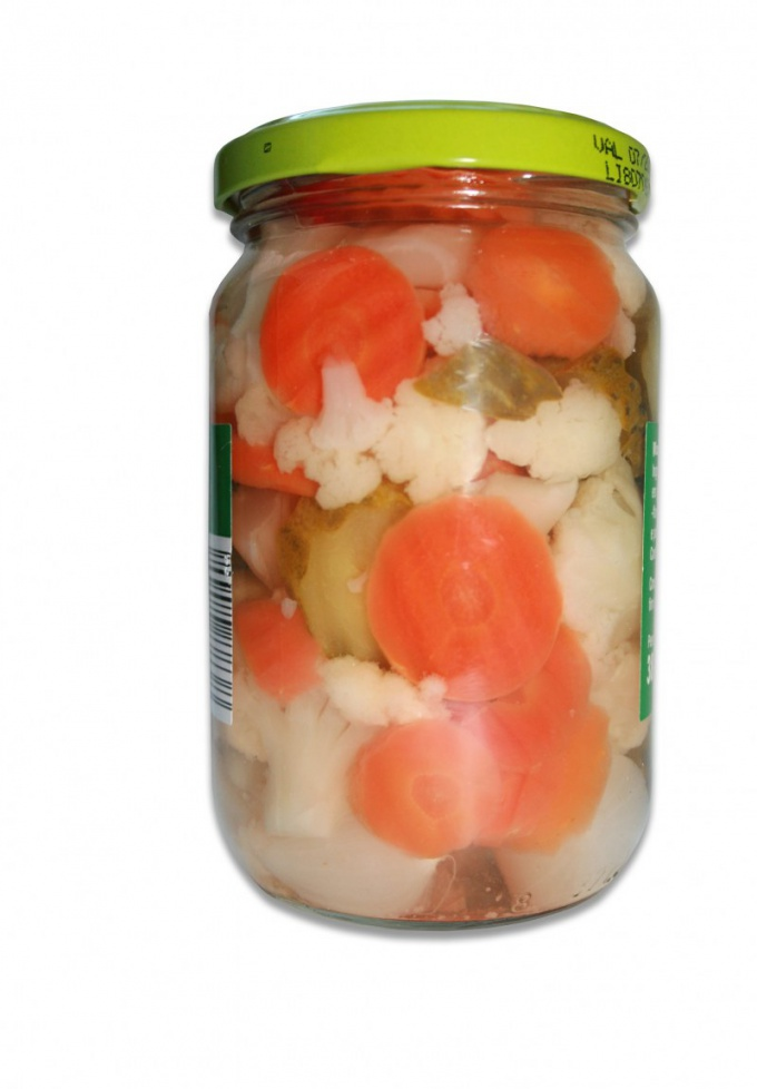 Как законсервировать овощное ассорти
