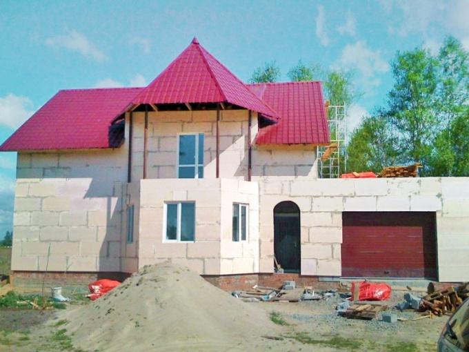 Как построить дом из твинблоков
