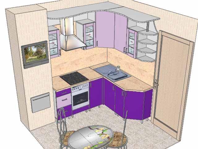 Как нарисовать проект кухни