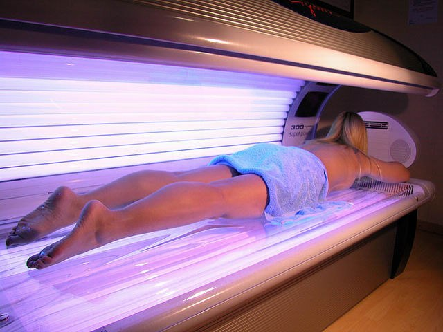 What to do if burned in the tanning bed