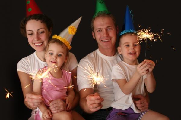 Как справить дома Новый год