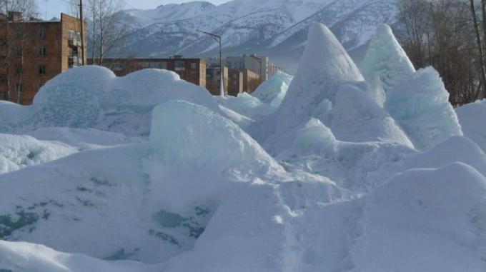 Как растопить лед в канализации