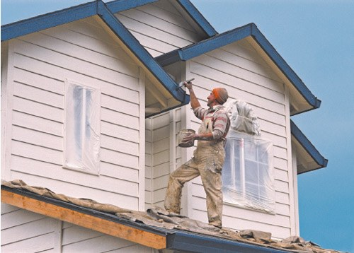 How to apply exterior paint