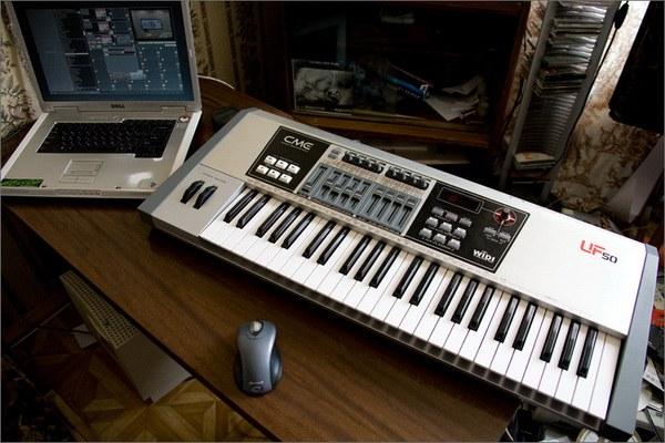 Как играть на миди-клавиатуре