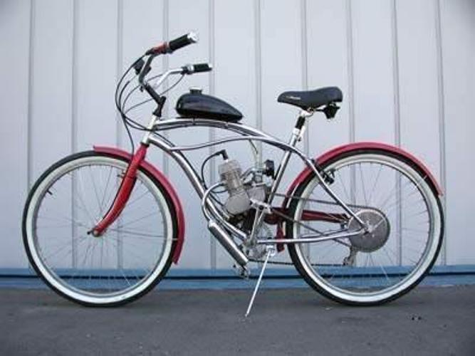 Как собрать велосипед на моторе