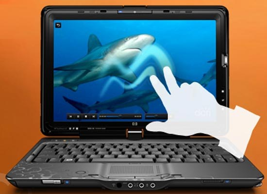 How to disable touch screen