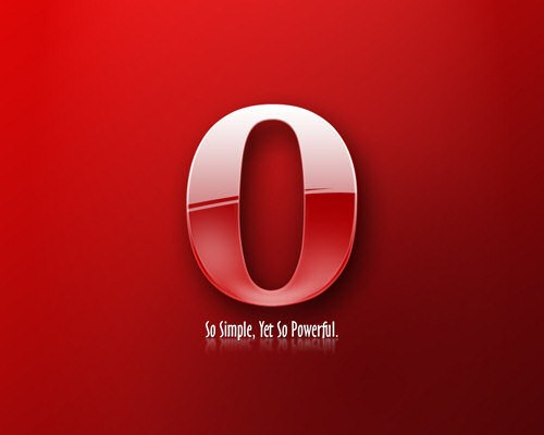How to make Opera the standard browser