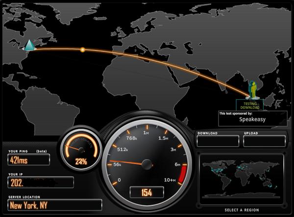 Как определить скорость подключения к интернету