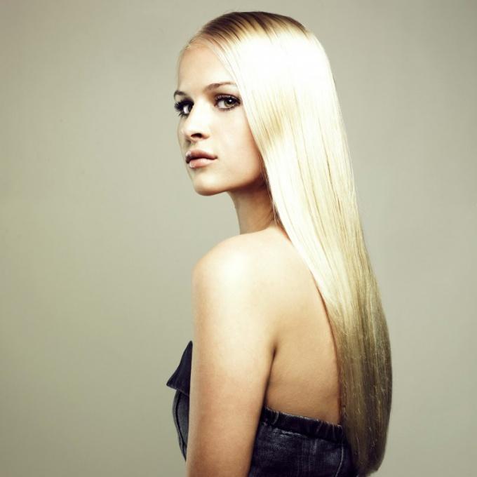 Как окрашивать длинные волосы