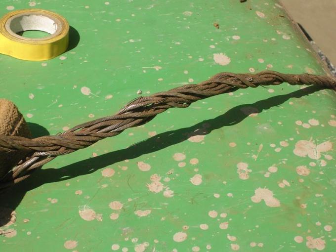 Как заплести петлю на тросе