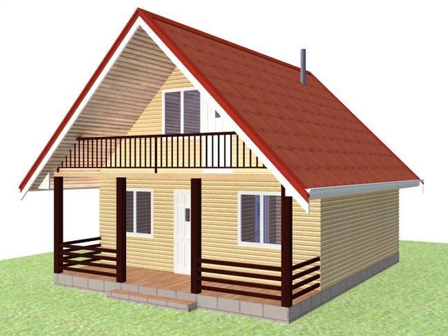 Как определить высоту дома