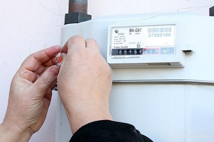 Как снимать показания счетчика на газ