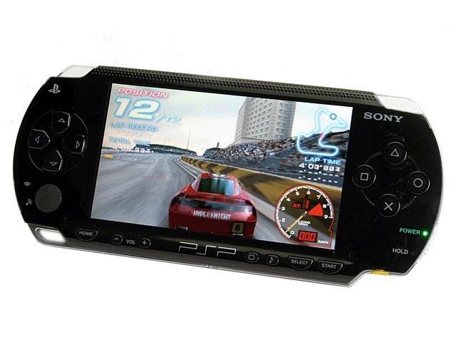 Как вносить зрелище PSP