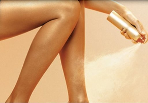 How to apply a self-tanning spray