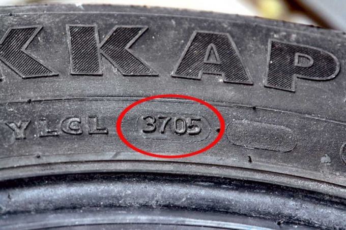 How to determine the year of manufacture of the tire