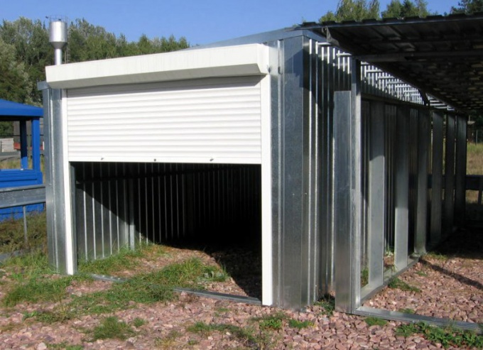 Как поднять крышу в гараже