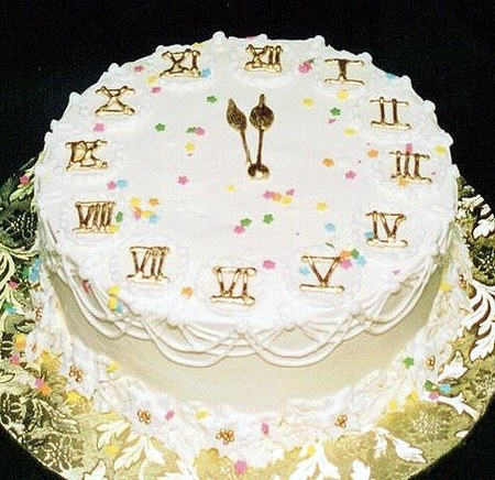 Как украсить торт к Новому году
