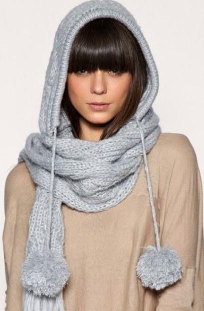 Как повязать красиво шарф на голове
