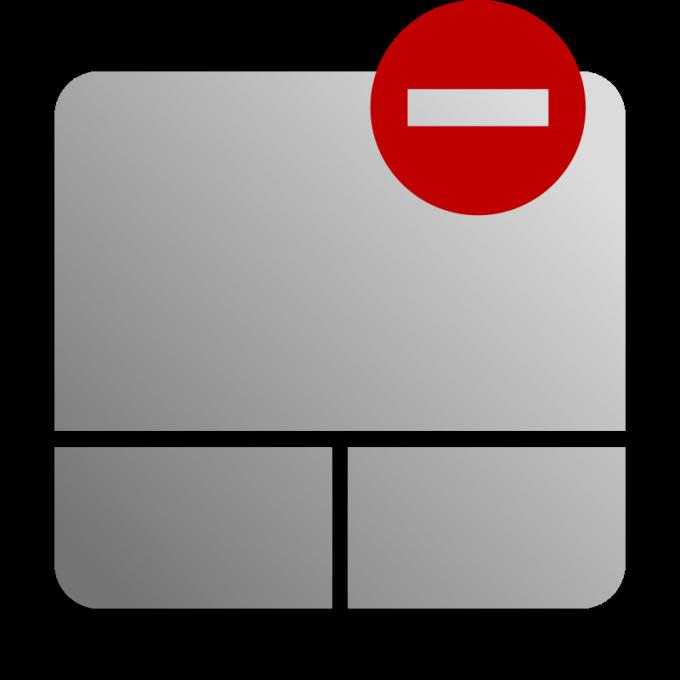 Как отключить сенсорную мышь на ноутбуке