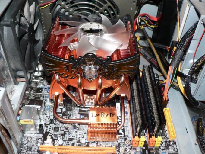 Как нанести пасту на процессор