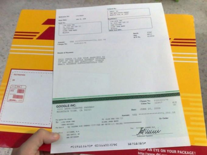 Что такое чек